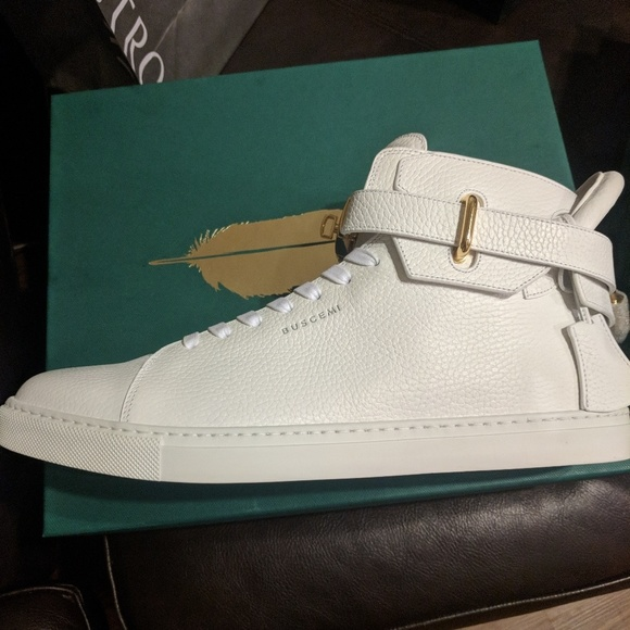 Buscemi Shoes   Buscemi 0 Mm White